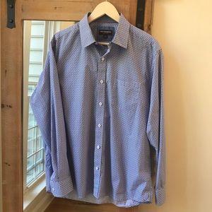 Johnston & Murphy pocket dress shirt